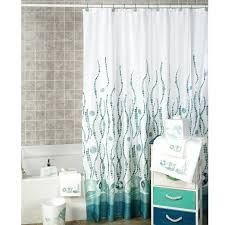sea themed curtains cute trendy shower curtain with ocean themed