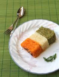Indian Flag Cake A Tricolour Dhokla Dhamaka Tadka Pasta