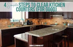 Countertop Organizer Kitchen 4 Simple Steps To Clear Kitchen Counters For Good Clean Mama