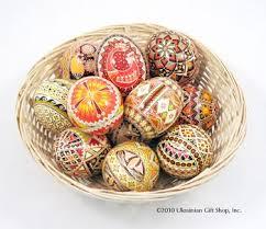 ukrainian easter eggs supplies collection of 12 pysanky ukrainian of pysanky