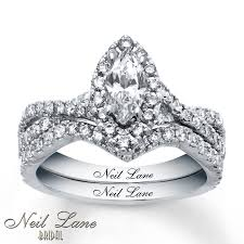 neil bridal set neil bridal set 1 3 8 ct tw diamonds 14k white gold