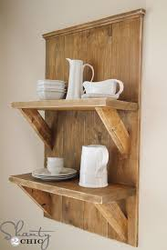 Decorative Bookshelves by Check Out My Easy Diy Shelf Made From Reclaimed Wood Shanty 2 Chic