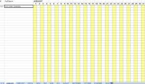 Attendance Sheet Template Excel Excellent Monthly Attendance Sheet Template Sle In Excel With