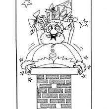 santa claus coloring pages 58 xmas online coloring books and