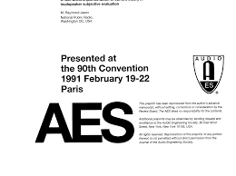 whats included in 96u aes e library a real world implementation of current theory in