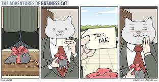 Meme Business Cat - the adventures of business cat funny dank memes gag