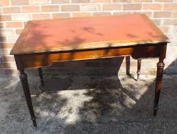 Office Desk Leather Top Office Desk Leather Top Ideal Restoration Project