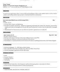 Sample Resume Format For Mba Finance Freshers by Mba Resume Template Download Contegri Com