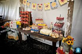 Farm Theme Baby Shower Decorations Operation Sunshine Farms Sweets Indeed