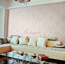 pink wallpaper for walls pink white fleur de lis wallpaper living room a beautiful and