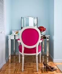 Velvet Vanity Chair Velvet Vanity Chair With Triptych Mirror Bedroom Contemporary And