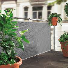 sichtschutz balkon grau sunfun sichtschutzmatte grau 300 x 90 cm bauhaus