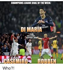 Robben Meme - chionsleague goal of theweek di maria fly credit instatroll