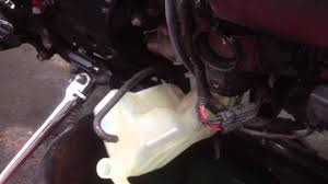 how to flush the coolant radiator part 3 youtube