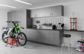 garage workbench and cabinets pewter cabinets ebony star workbench silverado floor dirt bike abbott may 2013 jpg