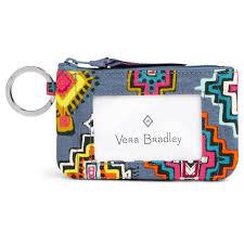 vera bradley home decor vera bradley zip id case in painted medallions handbags u0026 purses