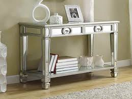 Hallway Accent Table Photo Of Accent Table Decor Mirrored Accent Table Is Beautiful In