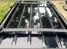 jeep grand cross rails 1999 2004 jeep grand roof rack cross rails luggage