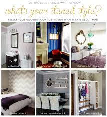 How To Determine Your Home Decorating Style What U0027s Your Stencil Style Stencil Stories