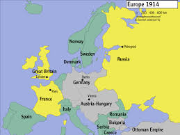Map Of Europe 1914 Europe After The First World War Talvisota