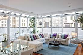 Living Room Design With Sectional Sofa Sectional Sofa With Side Tables Houzz