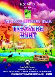 Armchair Treasure Hunts The U201cbutterfly Jewel U201d Treasure Hunt St John U0027s