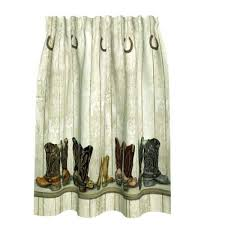 Cowhide Shower Curtain Western Shower Curtains Shower Curtains Outlet