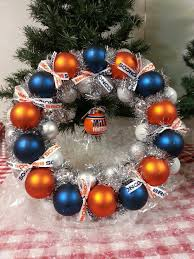 best 25 broncos wreath ideas on denver broncos colors