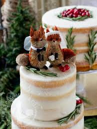 a winter woodland wedding u2013 the cake mom u0026 co