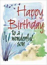 birthday cards for son from mother best 20 son birthday quotes