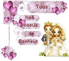 voeux de bonheur mariage gifs mariage page 9