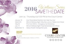 Online Save The Dates 2016 Wellness Series Save The Date Couri Center For Gynecology