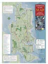 Portland Bike Map by Here U0027s A Map Of The Bike Trails On Bainbridge Island You Could