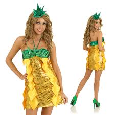 pineapple fruit funny costume