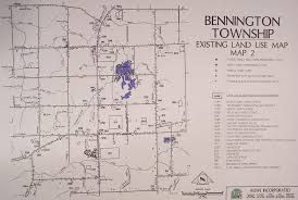 Owosso Mi Map Bennington Township General Information