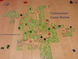 Carcassonne France Map by Carcassonne Game Review U2013 Running With Team Hogan