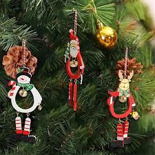 New Year Ornaments Craft 1 Pc Santa Dolls Gifts Pendant Sale Tree Decorations