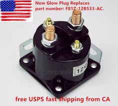7 3l powerstroke diesel glow plug glowplug relay solenoid ford us