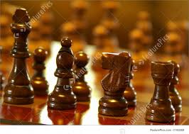 Wooden Chess Set Wooden Chess Pieces Photo