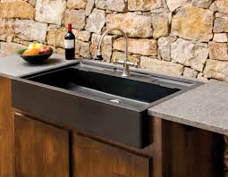 brown kitchen sinks salus outdoor kitchen sink stone forest