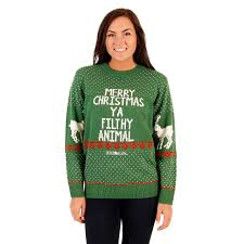 s green filthy animal sweater