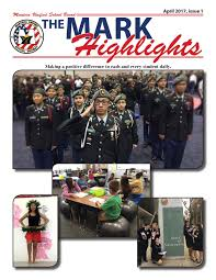 the mark highlights april 2017 issue 1 by manteca unified