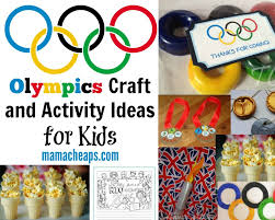 olympics craft and activity ideas for kids mama cheaps