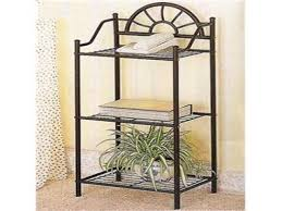 inspirations tall planters flower pot stands wrought iron