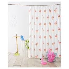 Pink Flamingo Bathroom Accessories Flamingo Shower Curtain Ivory Pillowfort Target