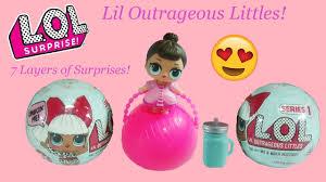 lil outrageous littles l o l dolls color change spits tinkles