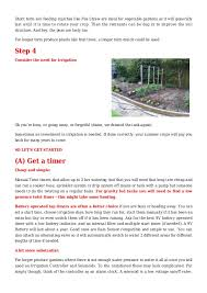 busy person u0027s guide to watering systems for vegetable gardening