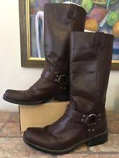 s boots size 9 1 2 maverick brown leather boots size 9 ebay