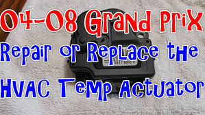 04 08 pontiac grand prix repair or replace the hvac temperature