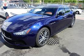 blue maserati used blue 2014 maserati ghibli s q4 for sale gold coast maserati